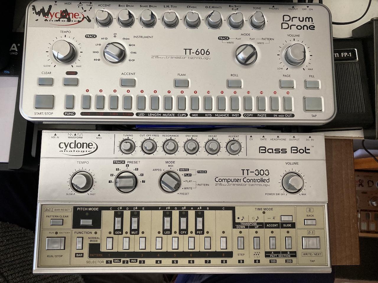 Cyclone TT-606 and TT-303